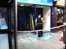 Aftermath of London unrest August 8th 2011 Stock Image