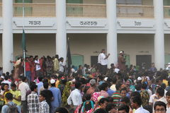 Aftermath Rana plaza in Bangladesh (File photo) Stock Image