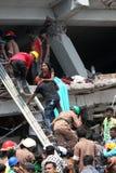 Aftermath Rana plaza in Bangladesh (File photo) Royalty Free Stock Photography