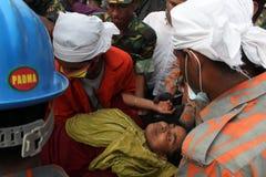 Aftermath Rana plaza in Bangladesh (File photo) Royalty Free Stock Image