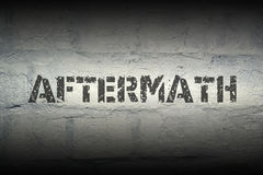 Aftermath WORD GR Royalty Free Stock Photos