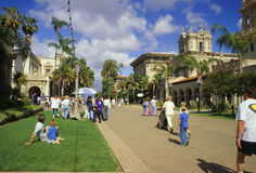 Afternoon in Balboa Park Royalty Free Stock Image