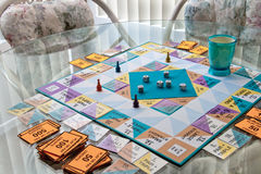 Afternoon Board Game Royalty Free Stock Photo