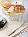Afternoon Cream Tea Stock Photos