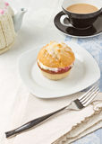 Afternoon Cream Tea Royalty Free Stock Image
