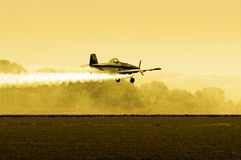Afternoon Crop Duster Royalty Free Stock Photo