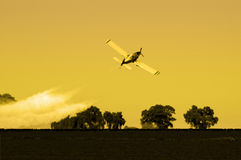 Afternoon Crop Duster Stock Photography