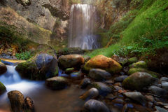 Afternoon Delight at Upper Bridal Veil Falls Royalty Free Stock Image