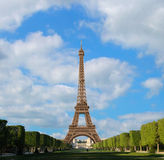 An afternoon with the Eiffel Tower Stock Photos