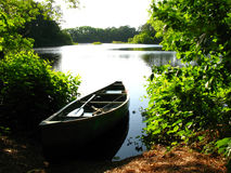 Afternoon fishing trip Royalty Free Stock Photography