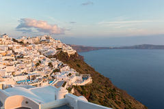 Afternoon on the island of Santorini Royalty Free Stock Images