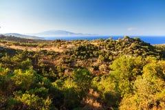 Afternoon landscape Zakynthos Stock Photos