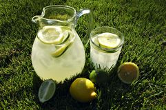 Afternoon Lemonade Stock Photography