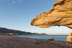 Afternoon light on Cabo de Gata Stock Photo