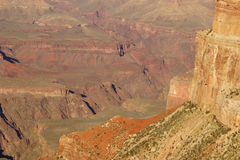 Afternoon light on the Grand Canyon Royalty Free Stock Photo