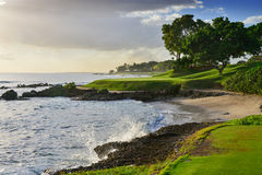 Afternoon Oceanside Par 3 Royalty Free Stock Image