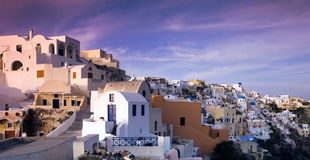 Afternoon in Oia Stock Images