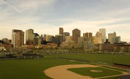 Afternoon picture of Denver Royalty Free Stock Image