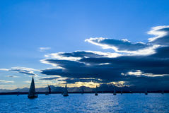 Afternoon Sail Royalty Free Stock Photo