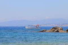 Afternoon seascape at Rhodes Stock Photography