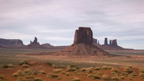 Afternoon shot from artist point of monument valley. An afternoon shot from artist point of monument valley in utah, usa stock image