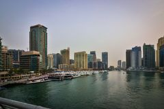 Dubai Creek Luxury and Business Royalty Free Stock Images