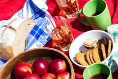 Afternoon snack Stock Photography