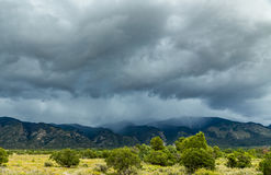 An afternoon storm Royalty Free Stock Photos