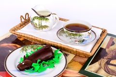 Afternoon tea. Royalty Free Stock Photography