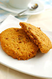 Afternoon tea cookies Royalty Free Stock Images