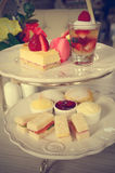 Afternoon tea, Filtered image processed vintage effect Royalty Free Stock Photo