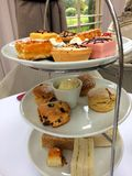 Afternoon Tea at a local hotel royalty free stock images