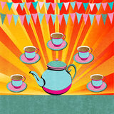 Afternoon Tea royalty free stock photo