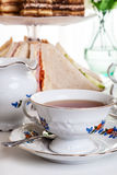Afternoon tea set Royalty Free Stock Photography
