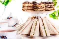 Afternoon tea set Royalty Free Stock Photo