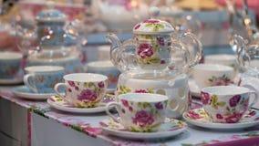 Afternoon Tea Set With Teapot stock image