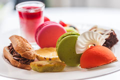 Afternoon tea. A Traditional English afternoon tea Royalty Free Stock Image