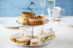 Afternoon tea Royalty Free Stock Photos