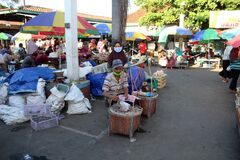 Afternoon traditional market