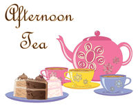 Afternoon treats Royalty Free Stock Photography