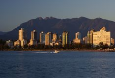 Afternoon in Vancouver, Canada Stock Photos