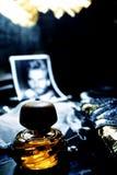 aftershave άρωμα Στοκ Εικόνες