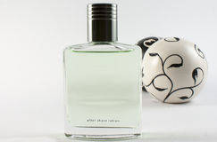 Aftershave lotion Royalty Free Stock Photography