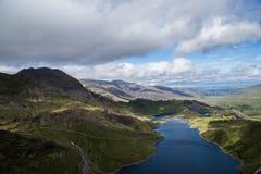 Afton över Snowdonia Fotografering för Bildbyråer