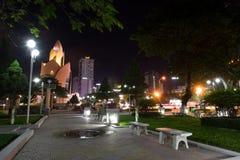 Afton i Nha Trang Arkivbilder