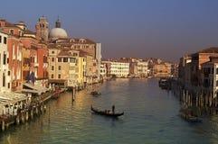 Afton i Venedig Royaltyfri Fotografi