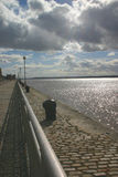 afton mersey Arkivfoto