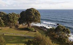 Afton på ön av Sao Miguel, Azores royaltyfria foton