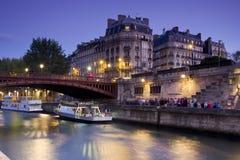 Afton Paris, Frankrike Royaltyfri Bild
