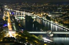 Afton Paris, Frankrike Royaltyfria Foton